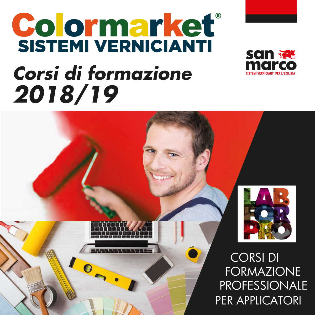 color market per lab for pro di San marco