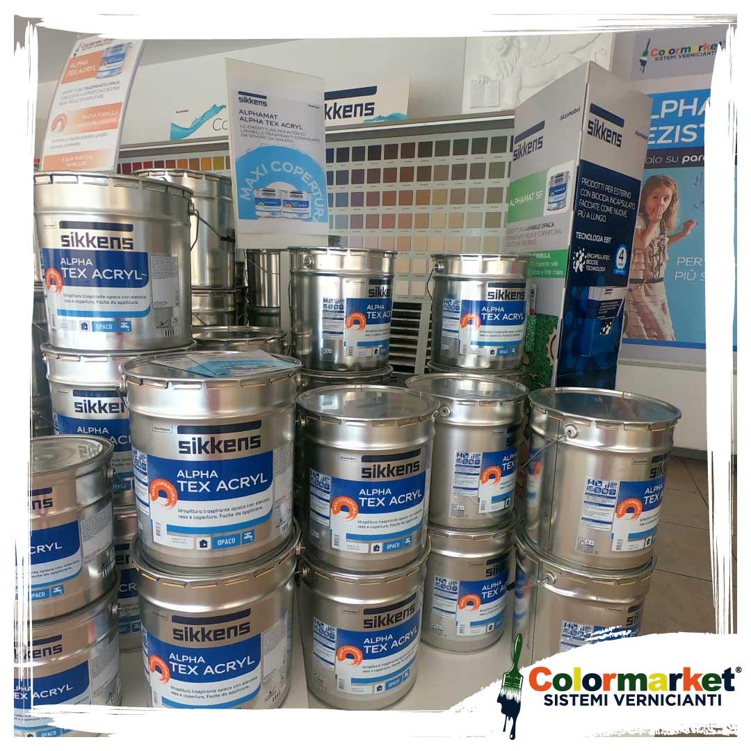 color market rivenditore ufficiale sikkens